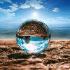 El cristal hace la bola a mano de cristal para la foto casera de la decoración y de la fotografía con varias dimensiones