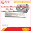 Placa de identificación modificada para requisitos particulares alta calidad de la placa de la insignia del precio directo de la fábrica
