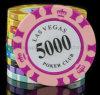 Jetton обломока изготовленный на заказ покера высокого качества играя в азартные игры