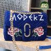 2017の新しいデザイン花は卸売価格Sy8672でハンドバッグの女性ハンド・バッグの女性のショッピング・バッグの余暇様式袋を飾った