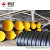 HDPE van de grote Diameter de Steelband versterkte Samengestelde Spiraal GolfPijp