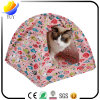 Tenda piegante portatile del gatto di Ndoor del gioco della tela di canapa del cotone di disegno dei pesci