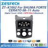 Radio de coche del estruendo 2 para KIA Shuma/Forte/jugador de Cerato 2008-2011 DVD GPS