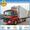 Foton 4X2 Actualización de 8 toneladas de alimentos de camiones refrigerados camiones camión caja