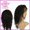 Quercy 브라질 Virgin 사람의 모발 실크 최고 레이스 정면 가발 바디 파 아기 머리 (hw-047b)를 가진 가득 차있는 레이스 사람의 모발 가발