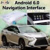 Pour d'interface vidéo multimédia automobile LEXUS RX450 version 2012-2017 de la souris Android 6.0 Navigation GPS