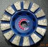 Fan-Shaped шлифовального круга для полировки камня