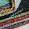Tissu en paillettes en métal décoratif à chaud