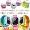 SosのSIMのカードスロットY7sが付いているスマートな子供GPSの追跡者の腕時計