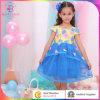 Vestido da menina do estágio, vestido da flor da criança do bebê no fato das crianças