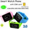 Водоустойчивый телефон вахты Bluetooth франтовской с гнездом для платы SIM (G11)