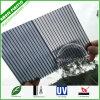 Folhas plásticas cinzentas da telhadura da cavidade do policarbonato da lista de preço do material de construção