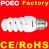 Baixa Potência em espiral completo CFL lâmpada economizadora de energia