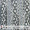 outre du tissu géométrique de lacet de coton blanc (M3061)