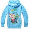 Children Full Fashion Girls Sweatshirts Kids Jackets Blue Colourのための2015新しいAutumn Spring Hoodies