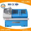 수평한 편평한 침대 높은 정밀도 고품질 CNC 선반 기계