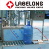 Máquina de rellenar del agua semiautomática de 5 galones para la pequeña fábrica