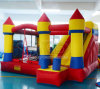 Yard Bounce House Bouncy Castle Inflatable Slide Combo with Blower