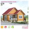Casa de madera sólida del jardín del registro del nuevo estilo con la alta calidad hecha en China Kpl-006