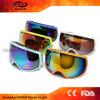 Kundenspezifische elastische Brücke-staubdichte windundurchlässige Blendschutzschnee-Schutzbrillen