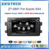Reproductor de DVD del coche del sistema Wince6.0 para Suzuki Sx4 con el GPS, DVD
