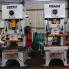 Elevada precisão Jh21 máquina de perfuração do metal de folha da ação da imprensa de potência do aço inoxidável de 200 toneladas única