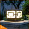 태양 야드 볼러드 빛 태양 기둥 램프 옥외 빛
