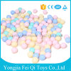 プラスチック安い非有毒なクラッシュの証拠7cmの柔らかい子供の多彩なバルク球ピットの球