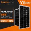Panneau solaire mono de Moregosolar 100W 115W avec la plus défunte série de ml de technologie