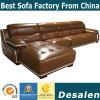 最もよい品質L形のホテルのロビーの家具の革ソファー(A15-2)