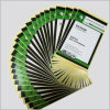 Cúpula transparente etiqueta de papel Adhesivo epoxi código de barras QR Impresora de etiquetas