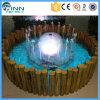 Fontaine d'eau de pulvérisation de forme d'hémisphère d'ornement de jardin