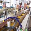 Ligne ligne en plastique en bois d'extrusion de PVC WPC du PE pp d'extrusion de composés