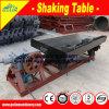 Kupfererz, das Tisch-Maschine rüttelnd aufbereitet