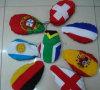 Journée nationale de célébration de la campagne publique de match de football voiture Drapeau de rétroviseur