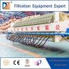 DZ-manuelles Membranen-Filterpresse-Maschinen-Wasserbehandlung-Gerät