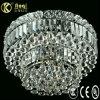 Lampada di cristallo di lusso del soffitto di disegno moderno del LED (AQ40001-9+10C)