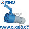 세륨 Certification (QX-3)를 위한 IP44 Economic Type Male Connector
