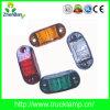 Heiße LKW-Seite Marker& Abstands-Lichter des Verkaufs-E-MARK 12V/24V 2.5  ovale LED