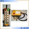 Rádio do guindaste de F24-12s de controle remoto para industrial