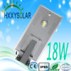 Luz de calle integrada solar del LED 18W