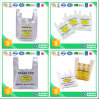 prix d'usine sac en plastique du visage heureux pour le shopping