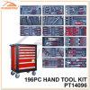 Ручной резец Kit Powertec 196PC с Metal Cabinet (PT14096)
