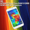 S 5 WiFi Dual Core 5 Inch Mtk6572 2g GSM 4D Air Gesture Best Selling Android Phone