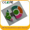 Driver molle personalizzato del USB del PVC di figura della carota di disegno (PER ESEMPIO 606)