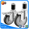 Rad-erweiternstamm-Fußrolle PU-4  5  für Waren-Regal