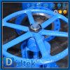 O volante de Didtek flangeou válvula de porta das extremidades Wc6