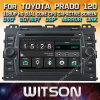 Witson Windows Car Multimedia player de DVD para a Toyota Prado Prado Série 120 2002 2009