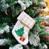 Noël fournit le jouet de bas de Noël de sacs à Santa