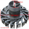 回転スプリンクラーヘッドのための冷却塔のノズル